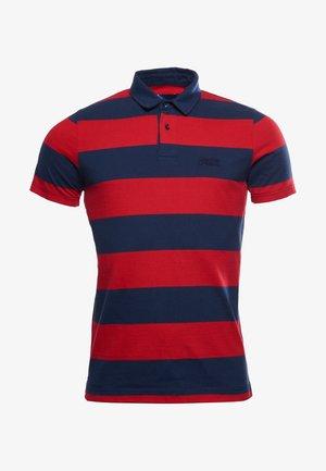 Piké - varsity hoop stripe red