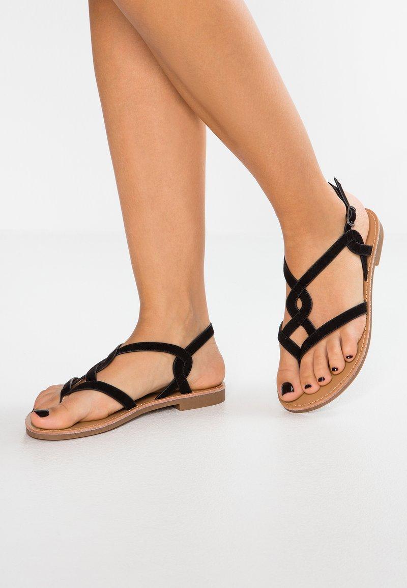 Anna Field - T-bar sandals - black
