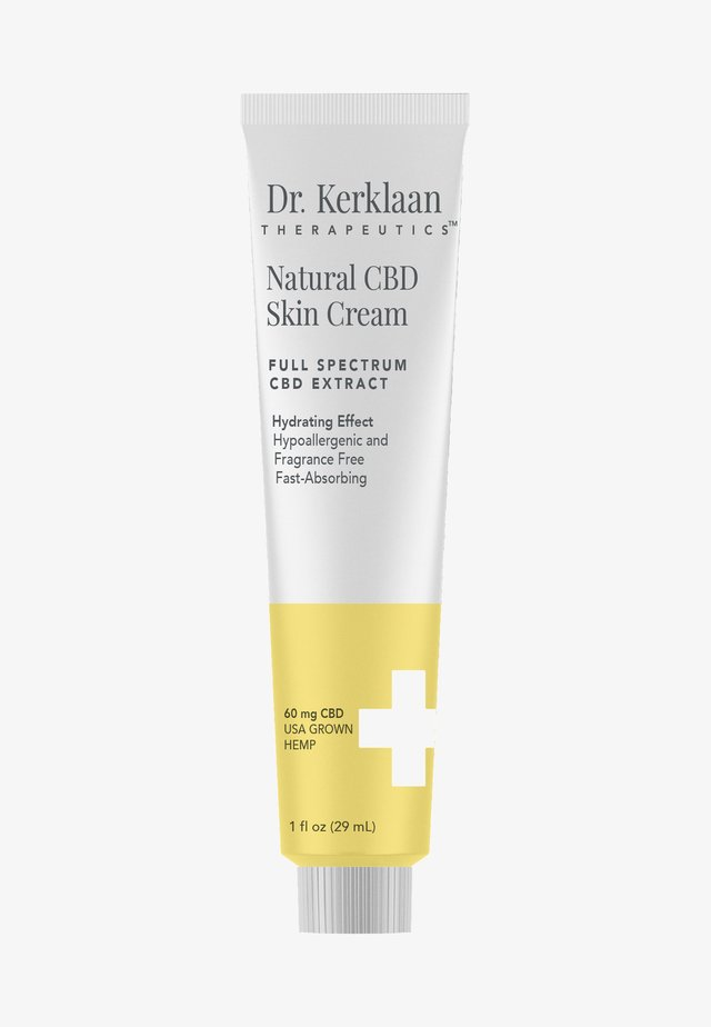 NATURAL CBD SKIN CREAM  - Hydratant - -