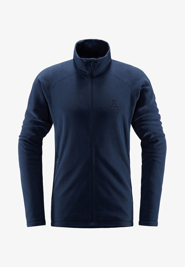 ASTRO JACKET - Fleece jacket - tarn blue