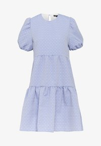 Sister Jane - PARADE BABY DOLL MINI DRESS - Kjole - blue - 0