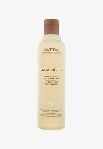 FLAX SEED ALOE STRONG HOLD SCULPTURING GEL  - Hair styling - -