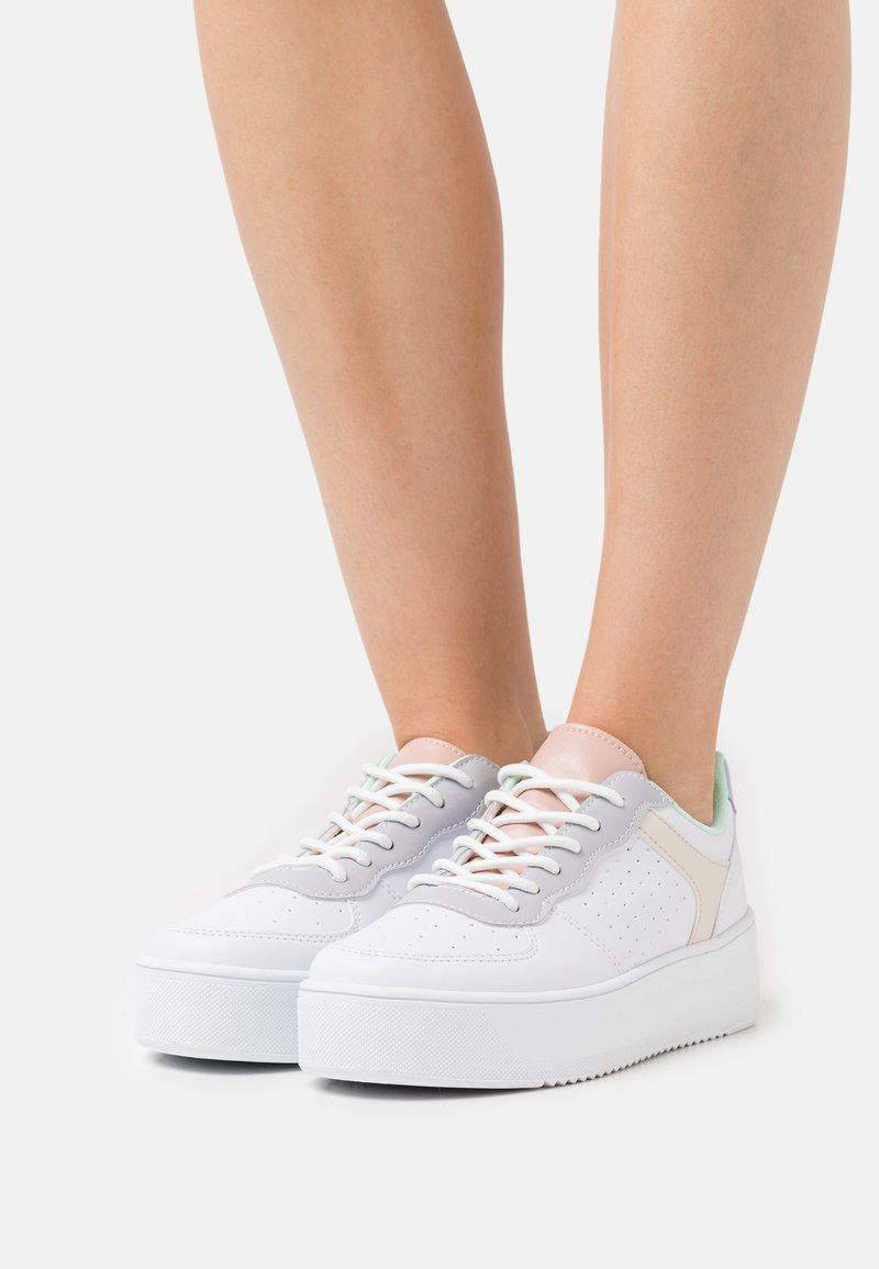Nly by Nelly - EDITION PLATFORM - Sneakers laag - multicolor