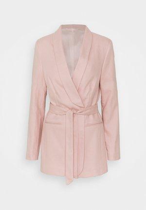 ALBA - Short coat - sepia rose