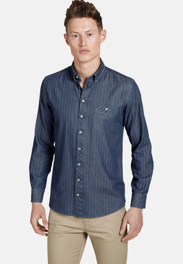 GREENWATERS - Shirt - blue green