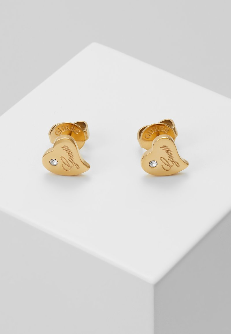 Guess - QUEEN OF HEART - Earrings - gold-coloured