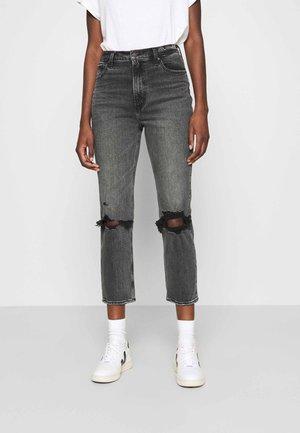 KNEE SLIT  - Jeansy Straight Leg - grey wash