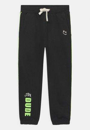 KIDS BOYS  - Spodnie treningowe - schwarz