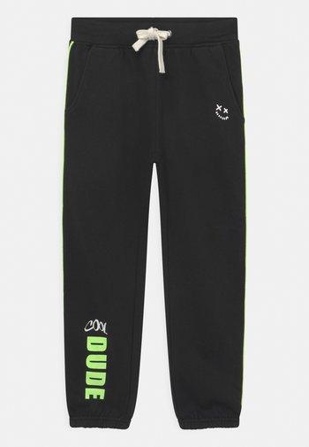 KIDS BOYS  - Pantaloni sportivi - schwarz