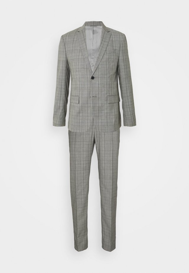 PRINCE OF WALES SUIT - Oblek - grey