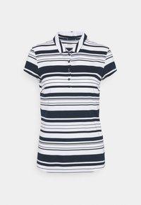 Puma Golf - CLOUDSPUN RIBBON - Polo shirt - navy blazer/bright white - 0