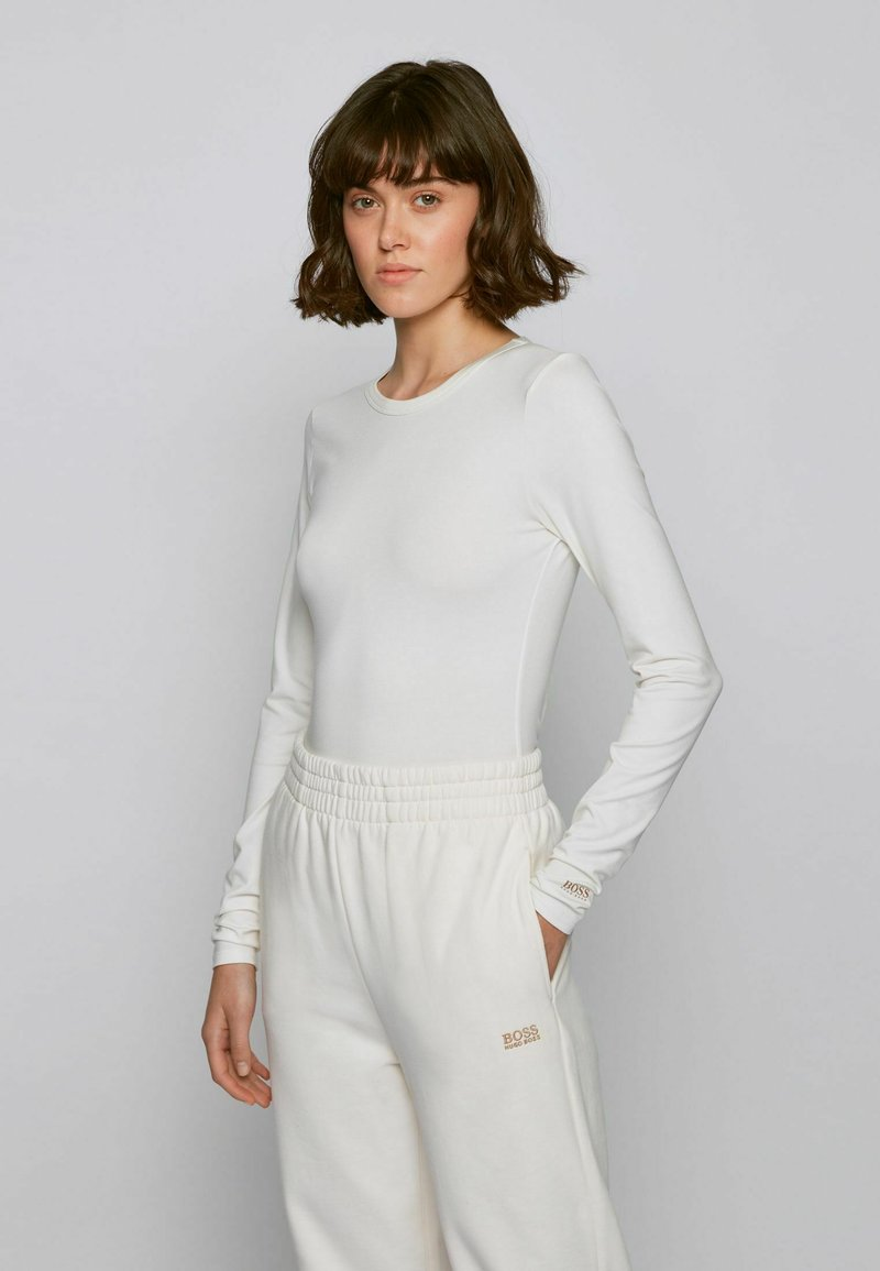BOSS - C_ESABEL_ACTIVE - Long sleeved top - natural