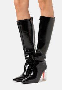 BEBO - SCOTTIE - High heeled boots - black - 0