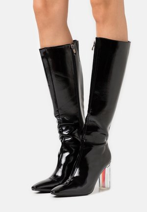 SCOTTIE - High heeled boots - black
