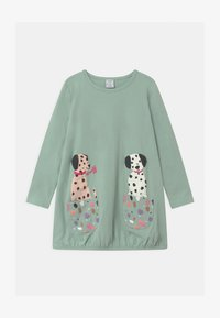 Lindex - MINI LONG PLAYFUL POCKETS - Long sleeved top - light dusty turquoise - 0