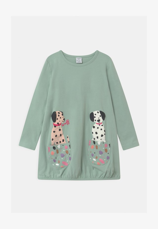 MINI LONG PLAYFUL POCKETS - Longsleeve - light dusty turquoise