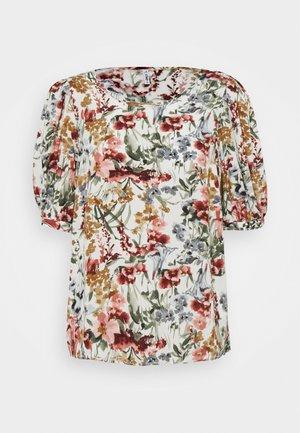 ONLKARMA LIFE  - T-shirts med print - cloud dancer
