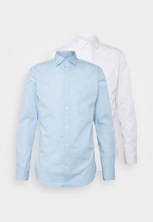 JJJOE 2 PACK - Camicia - cashmere blue/white