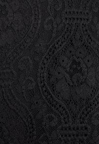 Vila - VIEDELLE HALTERNECK - Bluser - black - 2
