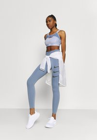 Nike Performance - ALPHA BRA - High support sports bra - ghost/ashen slate/black - 1