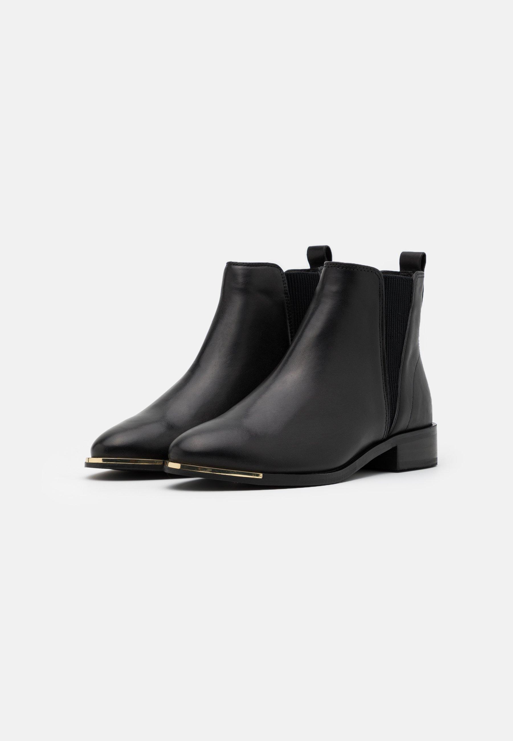 River Island Ankle Boot - Black/schwarz