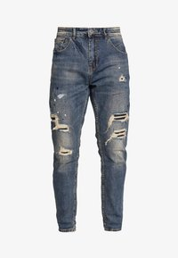 Gianni Lupo - Jean slim - blue denim - 5