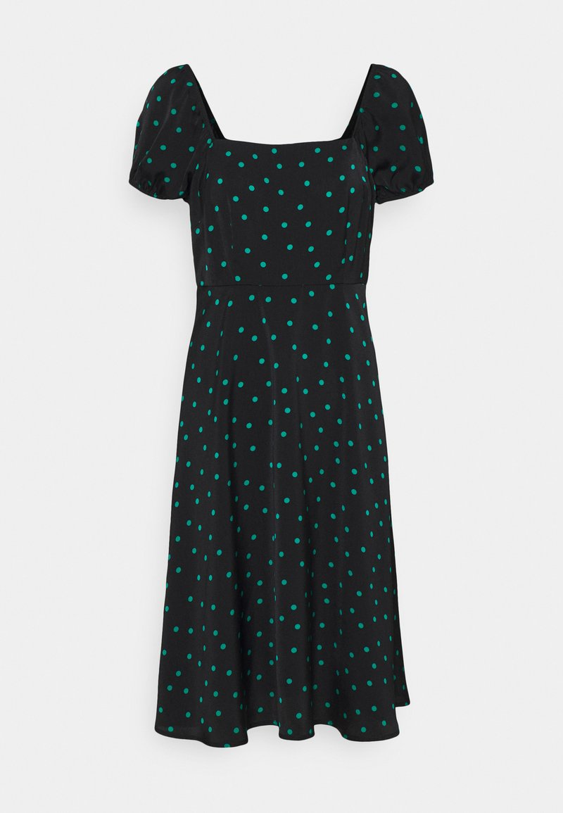 Even&Odd Petite - Maxi dress - black/green