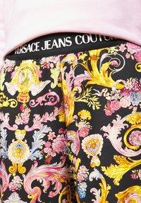 Versace Jeans Couture - JOGGERS - Spodnie treningowe - black - 4