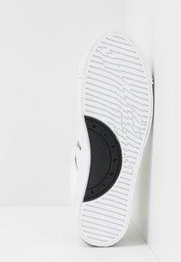McQ Alexander McQueen - PLIMSOLL PLATFORM - High-top trainers - white/black - 4