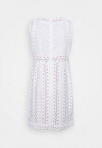 MICHAEL Michael Kors - STRIPED ROPE MINI DRESS - Day dress - white - 8