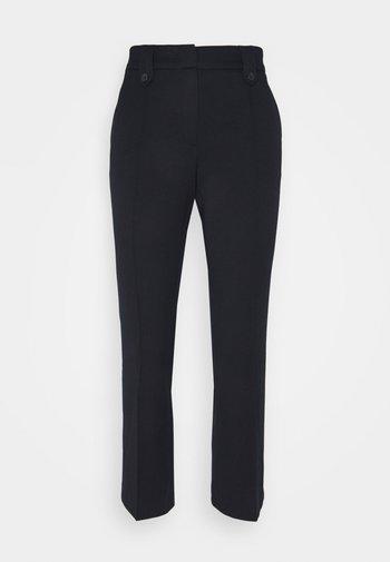 KICK FLARE PANTS - Trousers - marine