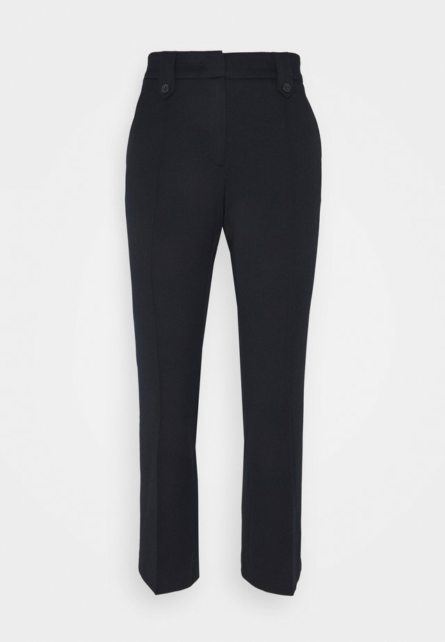 KICK FLARE PANTS - Trousers - marine