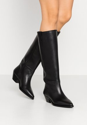 HUNTER HIGH BOOT - Boots - black