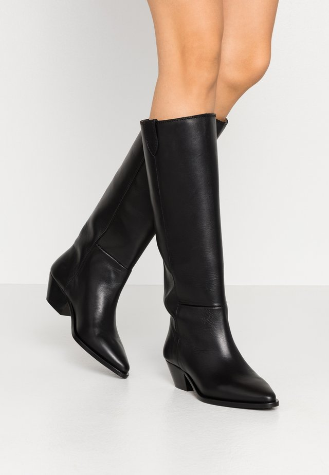 HUNTER HIGH BOOT - Laarzen - black