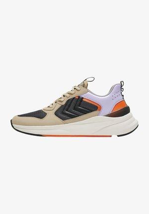 REACH LX 800 NUBUCK - Sneakers - bone white/orange/pastel lilac