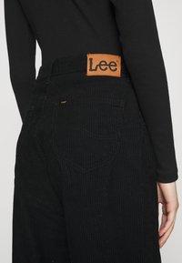 Lee - WIDE LEG - Trousers - black - 5