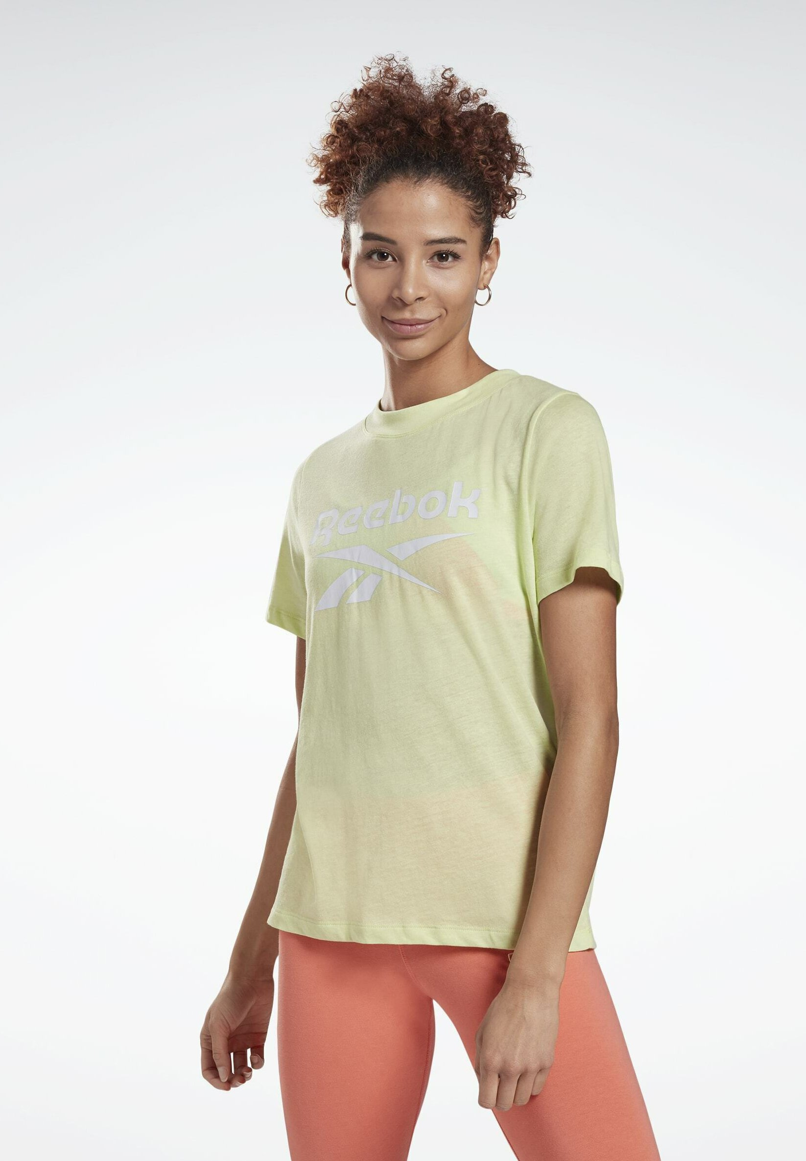 Women REEBOK IDENTITY LOGO T-SHIRT - Print T-shirt