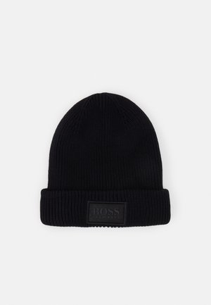PULL ON HAT UNISEX - Beanie - black