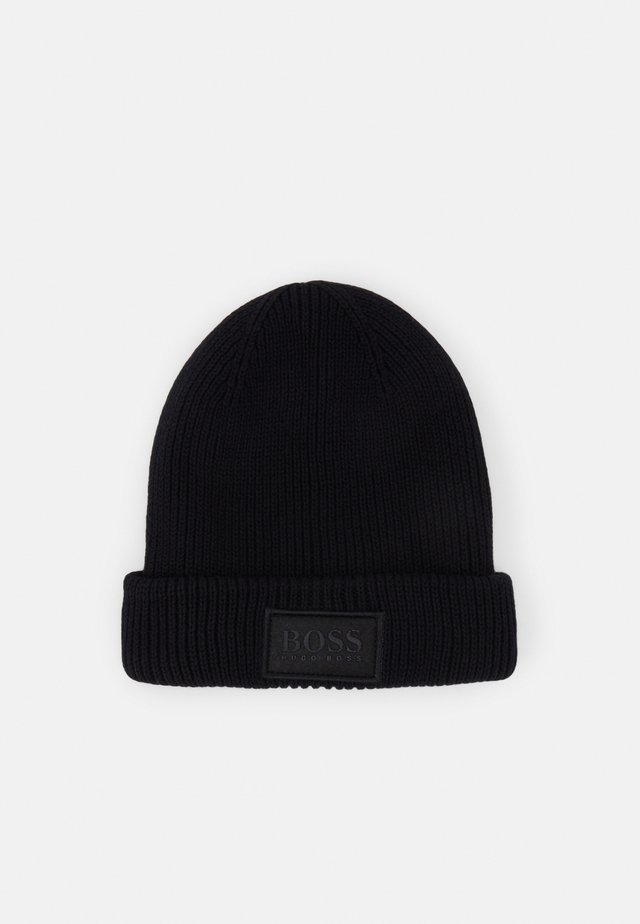 PULL ON HAT UNISEX - Mütze - black