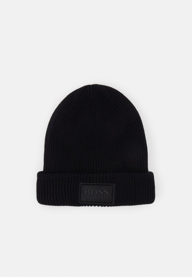 BOSS Kidswear - PULL ON HAT UNISEX - Muts - black