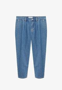 Violeta by Mango - MIT MITTELHOHEM BUND - Relaxed fit jeans - mittelblau - 4