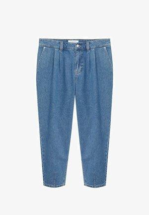 MIT MITTELHOHEM BUND - Relaxed fit jeans - mittelblau