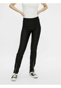 Pieces - Trousers - black - 0