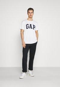 GAP - BASIC ARCH 2 PACK - Print T-shirt - blue/white - 0