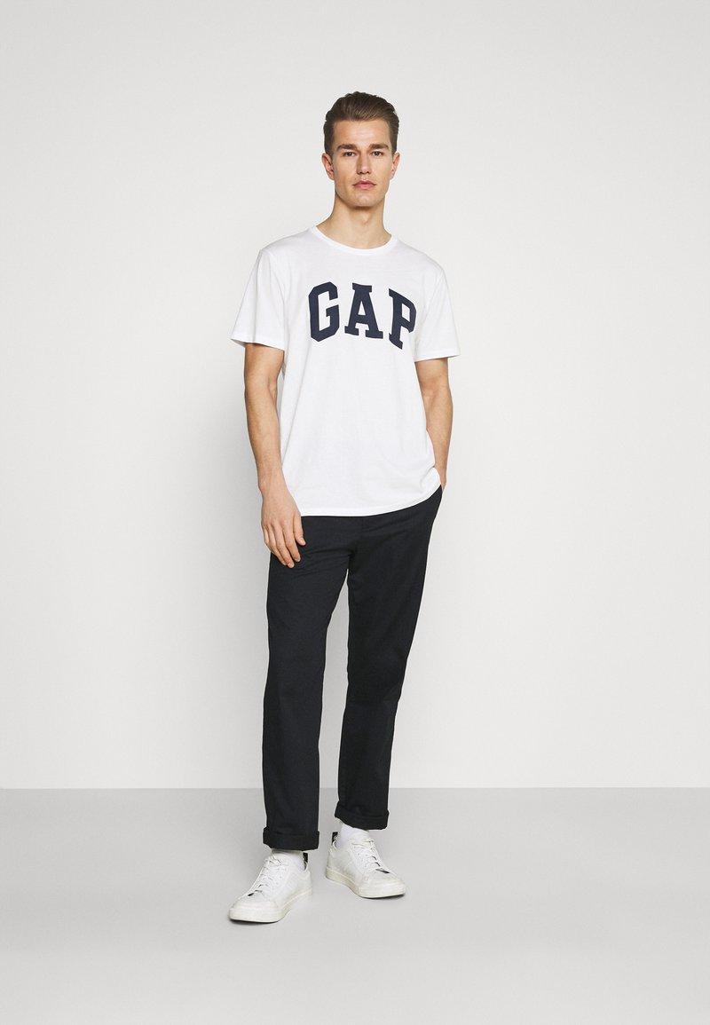 GAP - BASIC ARCH 2 PACK - Print T-shirt - blue/white