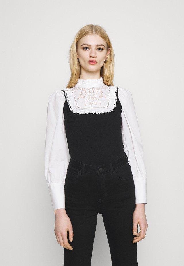 COLADA HYBRID - Langarmshirt - black