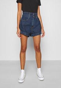 Levi's® - HR PAPERBAG SHORT - Jeans Short / cowboy shorts - fused - 0