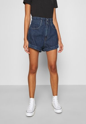 HR PAPERBAG SHORT - Short en jean - fused