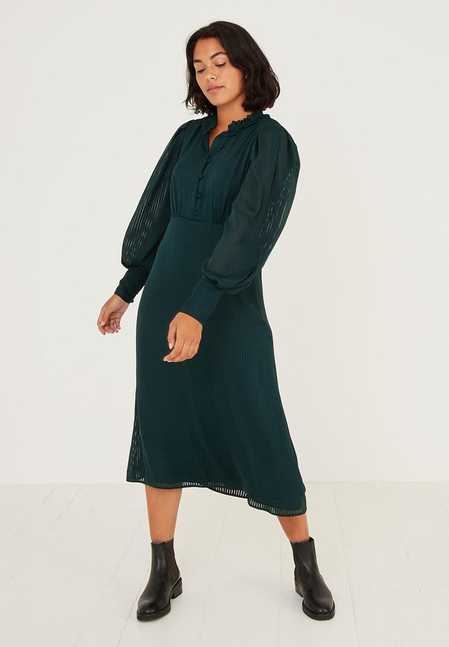 Shift dress - green