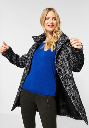 Short coat - schwarz